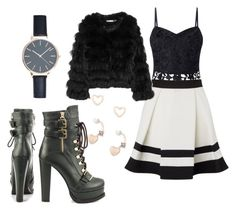 """""""Untitled #205"""" by matei-ana-maria ❤ liked on Polyvore featuring Lipsy, Alice + Olivia and Luichiny"""