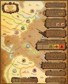 REBEL.pl: Empires: Age of Discovery - sklep z grami planszowymi