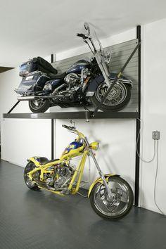 Garage storage lift. hubby needs this!