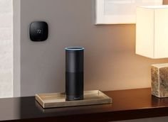 Amazon's Alexa Fund joins $35 million funding round for the makers of the Ecobee smart thermostat     - CNET  Enlarge Image  The Ecobee3 Smart Thermostat and the Amazon Echo smart speaker.                                               Ecobee                                          Last year Amazon established the $100 million dollar Alexa Fund for developers and manufacturers both large and small. The idea was fairly straightforward  support people with good ideas on how to put the…