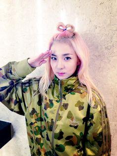 ~ Living a Beautiful Life ~ [2ne1] Dara's twitter update~