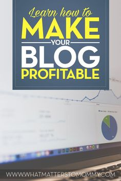 Learn how to make your blog profitable Debt Relief Companies, Make Money Blogging, Way To Make Money, Make Money Online, Start Up Business, Online Business, Business Marketing, Business Ideas, Business Funding