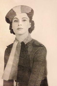 Vivien Leigh as a model.