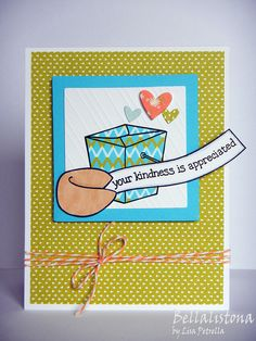 Lawn Fawn - Good Fortune, Daphne's Closet Paper, Hearts Lawn Cuts _ FortuneCookieThankYou by bellalistona, via Flickr