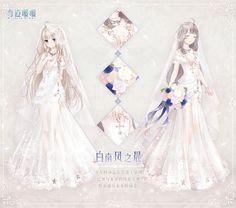 81 Best Anime Wedding Dresses Images Anime Wedding Anime