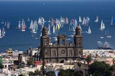 "Catedral de Vegueta ""Gran Canaria"" - Salida XXIV edición de la regata Atlantic Rally for Cruisers (ARC)"