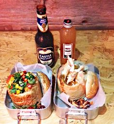 Restaurants Archives - Mostly Food and Travel Journal South African Bunny Chow, South African Recipes, Ethnic Recipes, Meat Recipes, Cooking Recipes, Breakfast Cafe, Bistro Food, London Food, Food Packaging