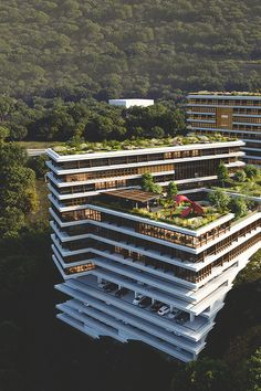 Landscapes // The future of Modern Resorts ©   Assured To Inspire