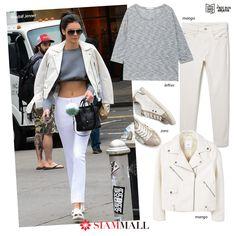 #GetTheLook #KendallJenner tiene un estilo genial. Copia su look con prendas que puedes conseguir en #SiamMall MANGO lefties ZARA