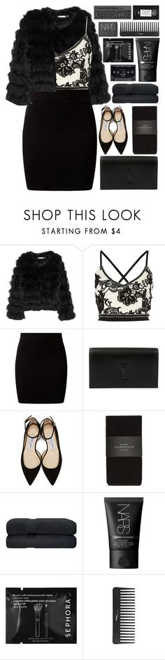 """from new york with love♡"" by charli-oakeby ❤ liked on Polyvore featuring Alice + Olivia, New Look, Yves Saint Laurent, Jimmy Choo, Zara, NARS Cosmetics, Sephora Collection, Summer, happy and love"