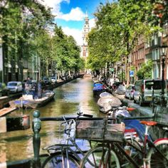 Beautiful Amsterdam, The Netherlands