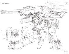 Metal Gear REX and Metal Gear RAY