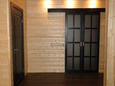 Раздвижная межкомнатная дверь из массива дуба / Меб Эстет