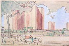 Ville Radieuse - Le Corbusier