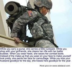 A Salute To Our Female Soldiers!