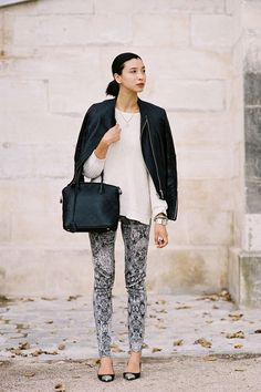 Lily Kwong, Tuileries, Paris, September 2012 | photography by Vanessa Jackman
