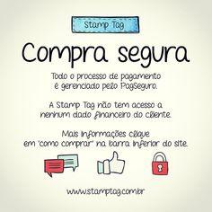Compra segura  #pagseguro #tanlup #decor  #comprodequemfaz  #canecas #presente #personalizadas #mug #StampTag @stamptag  visite o site www.stamptag.com.br