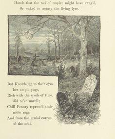 "Image taken from:  Title: ""An Elegy written in a country churchyard ... The artists' edition"", ""Elegy written in a country churchyard. English"" Author: GRAY, Thomas - the Poet Shelfmark: ""British Library HMNTS 11643.h.32."" Page: 19 Place of Publishing: Ward, Lock, Bowden & Co Date of Publishing: 1893 Publisher: London Issuance: monographic Identifier: 001494583  Explore: Find this item in the British Library catalogue, 'Explore'. Download the PDF for this book (volume: 0) Image found on…"