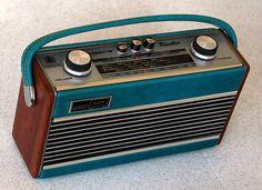 "Roberts Radio ""Rambler"" portable radio."