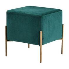 With its small size and surprising strength, you'll want multiples of the Meridian Furniture Inc Isla Square Upholstered Ottoman/Stool in your.