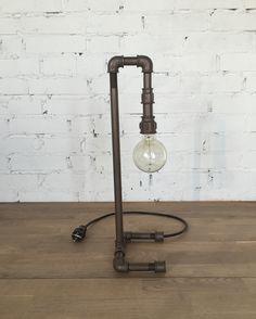 Настольный светильник в стиле Лофт.