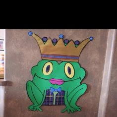 """""""Pin the Lips on the Frog"""" game for princess birthday party"""