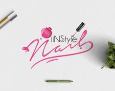 manicurist logo nail salon logo nail polish logo premade beauty logo pedicure logo manicure logo beauty shop logo bespoke nail logo - Nail Salon Logo Design Ideas