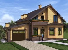 New Exterior Design Backyard How To Build Ideas Home Building Design, Home Design Plans, Building A House, House Design, Siding Colors For Houses, Exterior Paint Colors For House, House Cladding, Facade House, Exterior House Siding