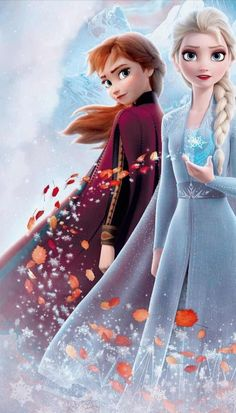 Anna e Elsa Frozen 2 <br> Frozen Disney, Princesa Disney Frozen, Frozen Elsa And Anna, Frozen Movie, Olaf Frozen, Elsa Anna, Frozen Party, Disney Disney, Disney Princess Quotes