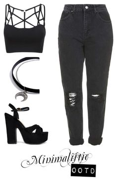 """Back To Black"" by tuasofia ❤ liked on Polyvore featuring Cape Robbin, Topshop and LULUS"