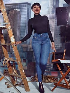 Buy 1 at Regular Price  Get 2nd Pair for $10--Shop Soho Jeans - Jennifer Hudson High-Waist Legging - Rich Indigo Blue Wash  . Find your perfect size online at the best price at New York & Company.