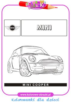 Mini Cooper - Kolorowanki samochody