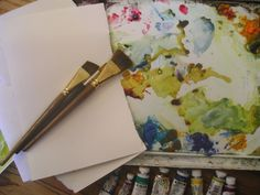 With the endless array of colors, how to choose a limited palette that will work hard and produce beautiful paintings. How to choose watercolor paper and brushes. Suggestions for watercolor books.