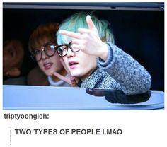 Two Types: Presented by Jin & Suga