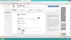 PDF Mergyest une application en ligne gratuite pourfusionner vos fichiers PDF.