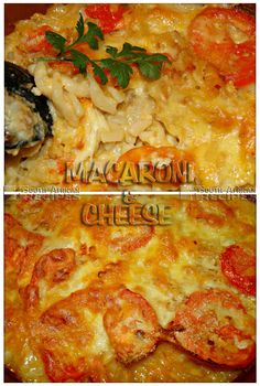 South African Recipes MACARONI AND CHEESE  (chilliliefde)
