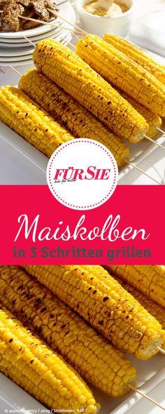 Schritt für Schritt zum perfekten Maiskolben vom Grill: Kaum ein Grillgericht ist leichter vorzubereiten als der Maiskolben vom Grill. Mit einer leckeren Marinade schmeckt das gelbe Korn besonders würzig.