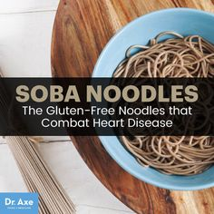 Soba noodles - Dr. Axe http://www.draxe.com #health #holistic #natural
