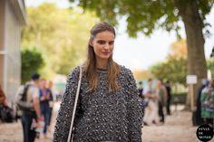 New post on http://www.styledumonde.com with Swedish #swedish model #model Tilda Lindstam #TildaLindstam @tildalindstam after #hermes #ss14 #fashionshow at #parisfashionweek #pfw #pfwss14 wearing chunky #chunky #sweater #outfit #ootd... #streetstyle #streetfashion #streetchic model off duty #modeloffduty #fashion #mode #style #Paris #weloveit #picoftheday  #bestoftheday #lookoftheday. Photo by #styledumonde