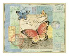 Susan Winget | Susan Winget - Golden Garden III - Poster - AllPosters.com.tr'de.