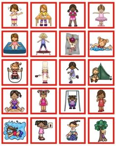 Pronoun & Verb Cards for Cariboo by Kathy Grover's Speech All the Time Teaching Pronouns, Pronoun Activities, Speech Therapy Activities, Language Activities, Speech Language Therapy, Speech Language Pathology, Speech And Language, Language Development, Therapy Ideas