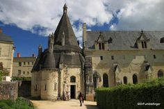 Kitchen/smoke house, Fontevraud Abbey, France
