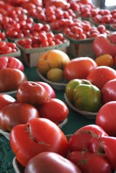 There are only two things in this world that money can't buy: true love and home grown tomatoes