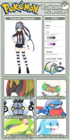 42c2c04bd52d7d5d967ee2ad11754b06 pokemon oc best pokemon pokemon trainer meme template by kuching sama deviantart com on