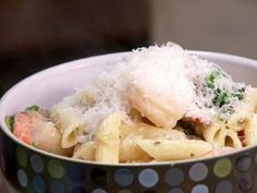 Company Shrimp and Mushroom Pasta by Paula Deen