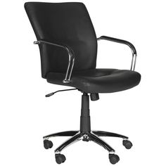 Lysette Desk Chair Black #DeskChair