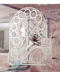 etched glass window - Google Search