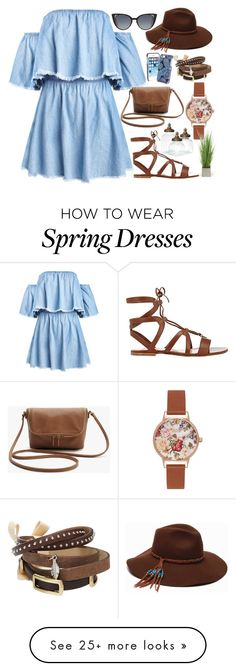 """Spring*"" by fashion-choice on Polyvore featuring Gianvito Rossi, ále by Alessandra, Vera Bradley, TOKYObay, Olivia Burton, Fendi and Distinctive Designs"