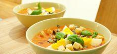 Veldig enkel og god tomatsuppe - hjemmelaget!