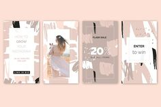 Blush Crush Patterns & Templates - Patterns - 7